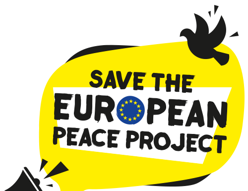 Appeal: save the European peace project!